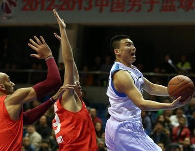 CBA第6轮实况:北京金隅VS山东黄金(第一节)