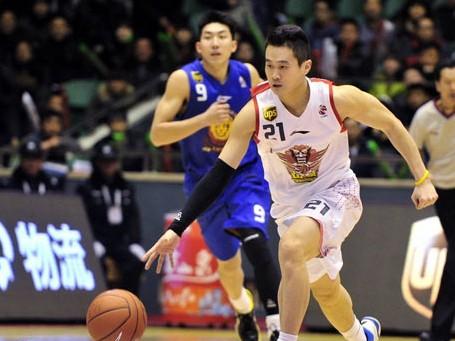 CBA第25轮:黄金男篮VS天津荣钢(第四节)