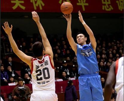 CBA第24轮:黄金男篮VS北京金隅(第二节)
