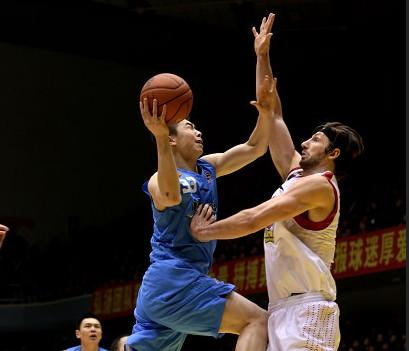 CBA第24轮:黄金男篮VS北京金隅(第四节)