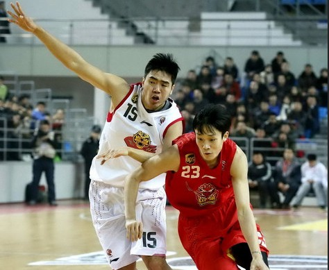 CBA第21轮:黄金男篮VS吉林九台农商银行(第一节)
