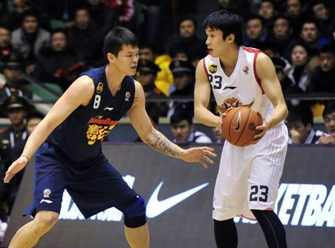CBA第16轮:黄金男篮VS广东东莞银行(第四节)