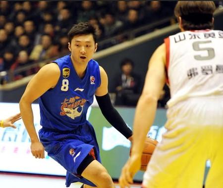 CBA第20轮:黄金男篮VS上海玛吉斯(第一节)