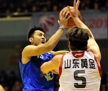 CBA第20轮:黄金男篮VS上海玛吉斯(第四节)