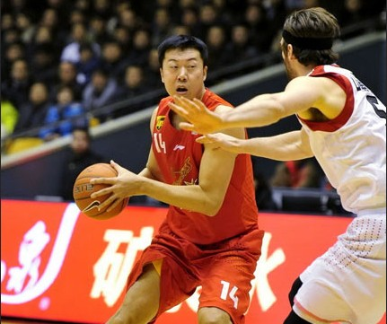CBA第19轮:黄金男篮VS八一双鹿(第四节)