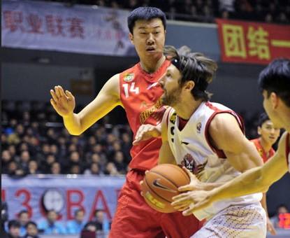 CBA第19轮:黄金男篮VS八一双鹿(第二节)