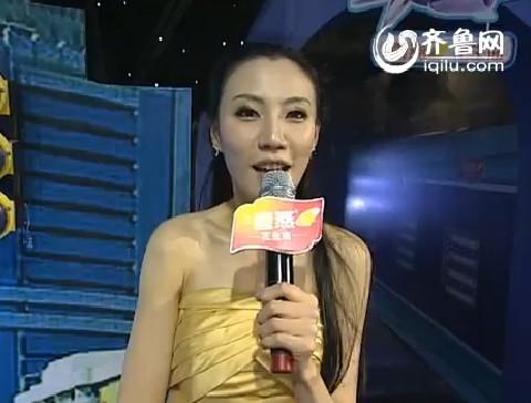 山东台琳琳秒杀湖南卫视谢娜