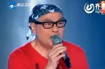 《中国好声音》第二季摇滚大叔钟伟强爆火 曾在比赛中赢张国荣