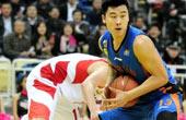 13-14CBA第26轮-山东黄金vs四川爱家168 第三节视频实况