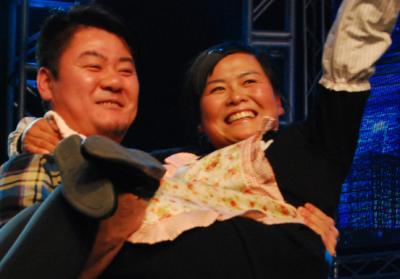 《让梦想飞》选手肉饼妹参加中央电视台《黄金100秒》 摘得冠军