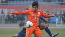 2014亚冠小组赛 山东鲁能vs泰国武里南 下半场比赛实况