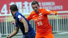 2014亚冠小组赛 山东鲁能vs泰国武里南 上半场比赛实况