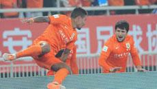 2014年中超联赛第一轮 山东鲁能1-0哈尔滨毅腾 下半场比赛实况