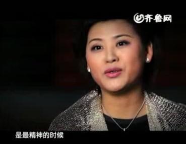 山东广播电视台新闻中心主持人毛馨宣传片