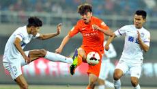2014中超第03轮-天津泰达1-1山东鲁能 上半场比赛实况