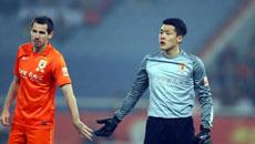 2014中超联赛第四轮-山东鲁能VS辽宁宏运 上半场比赛实况