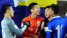 视频:2014中超第5轮上海申鑫0-1山东鲁能 全场精彩集锦