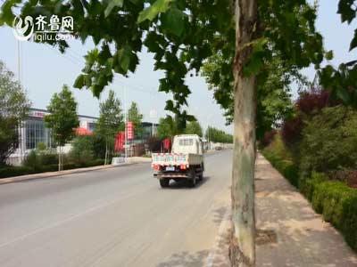 潍坊市民购凯马轻卡出现刹车甩尾现象