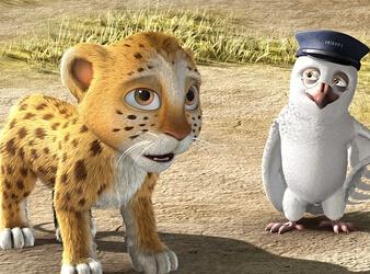 《动物也疯狂》预告 萌兽冒险团疯狂之旅