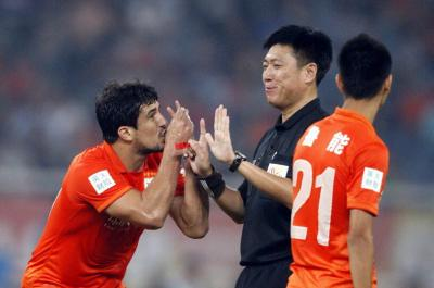 中超第24轮山东鲁能1-0长春亚泰 全场比赛集锦