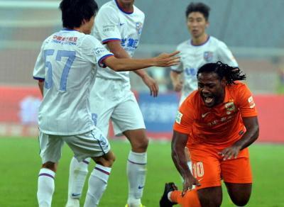 2014中超第26轮-山东鲁能VS上海绿地 下半场比赛实况