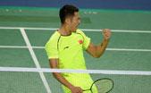 视频:林丹先失一局逆转谌龙 卫冕亚运羽毛球男单冠军