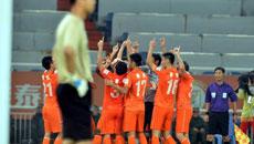 足协杯半决赛-山东鲁能3-0青岛海牛 全场集锦