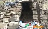 淄博:男子逃亡四年住洞穴 藏身墓地吃供品