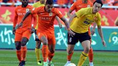 2014中超第30轮-山东鲁能1-1广州恒大 下半场比赛实况