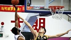 2014-15CBA第2轮-东莞男篮97-94山东男篮 第三节实况