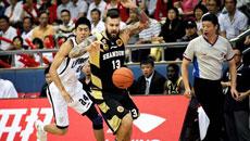 2014-15CBA第2轮-东莞男篮97-94山东男篮 第一节实况