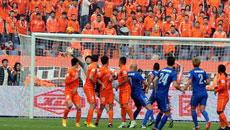 2014足协杯决赛首回合-山东鲁能4-2江苏舜天 上半场比赛实况