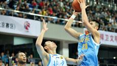 2014-15CBA第7轮-北京男篮95-71山东男篮 第四节实况