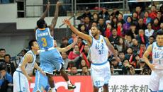 2014-15CBA第7轮-北京男篮95-71山东男篮 第一节实况