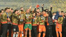 2014足协杯总决赛-鲁能5-4夺冠全场集锦 麦克格文压哨绝杀!