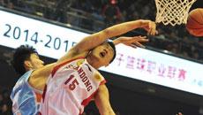 2014-15CBA第16轮-山东高速男篮88-112新疆男篮 第三节实况