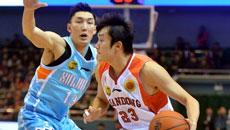 2014-15CBA第16轮-山东高速男篮88-112新疆男篮 第一节实况