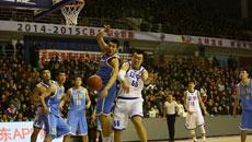 2014-15CBA第17轮-山东高速95-100辽宁男篮 第一节实况