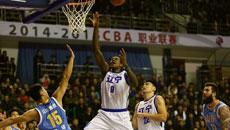 2014-15CBA第17轮-山东高速95-100辽宁男篮 第二节实况
