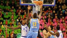 2014-15CBA第17轮-山东高速95-100辽宁男篮 第三节实况