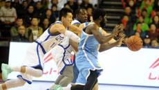 2014-15CBA第17轮-山东高速95-100辽宁男篮 第四节实况