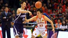 2014-15CBA第21轮-山东男篮78-89东莞男篮 第二节实况