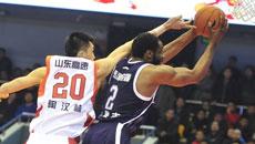 2014-15CBA第21轮-山东男篮78-89东莞男篮 第四节实况
