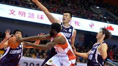 2014-15CBA第21轮-山东男篮78-89东莞男篮 第一节实况