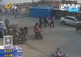 烟台:六旬老太被4名青年街头暴打 嫌犯受人指使行凶