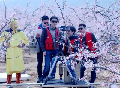 微电影《桃花恋》肥城拍摄 众多明星亲情加盟