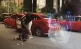 成都殴打女司机男子行车记录仪视频曝光