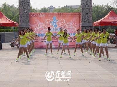 青州赛区——商务系统青春舞蹈队《小苹果》