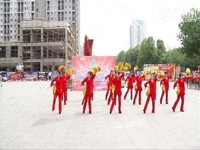 高新赛区——舞秀舞蹈队《张灯结彩》