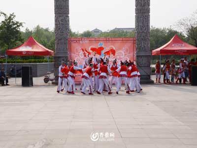 青州赛区——老干部艺术谈追梦舞蹈队《木兰归》